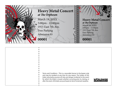 Heavy Metal Concert Tickets