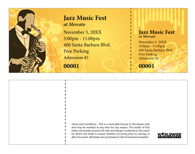 Jazz Music Festival Tickets