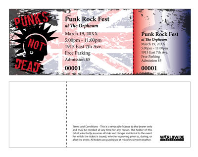 Punk Rock Festival Tickets