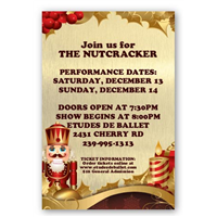 Design It Yourself 12 X 18 Nutcracker Ballet Posters