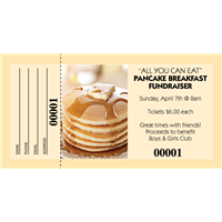 Pancake Breakfast Raffle Tickets