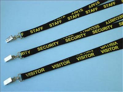 Staff, Security, Visitor Lanyards