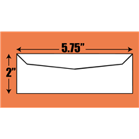 Ticket Size Envelope