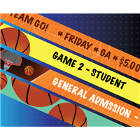 Basketball Tournament Wristbands