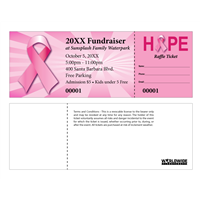 Breast Cancer Raffle Tickets