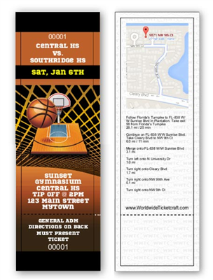 General Admission Basketball Tickets