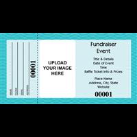 buy large custom printed raffle tickets