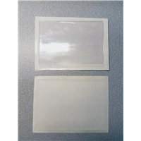 "Plastic Card Holders with Full Adhesive 3.5"" x 5.5"""
