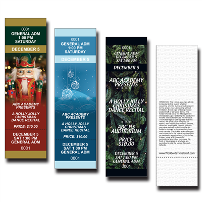 Christmas Tickets