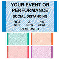 Design It Yourself Reserved Seating Roll Tickets