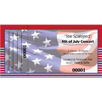 4th of July Raffle Tickets