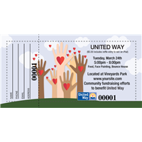 United Way Raffle Ticket