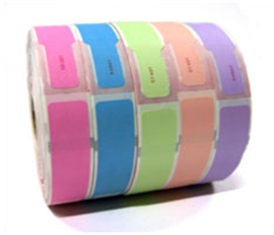"Numbered Stock Thermal Wristbands 1"" x 11"""