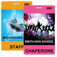 Dance Badges with Lanyards