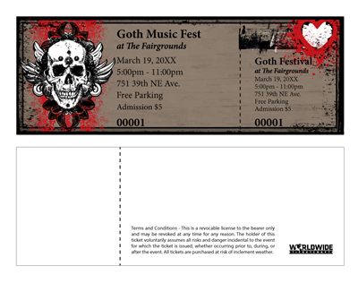 Gothic Music Festival Tickets