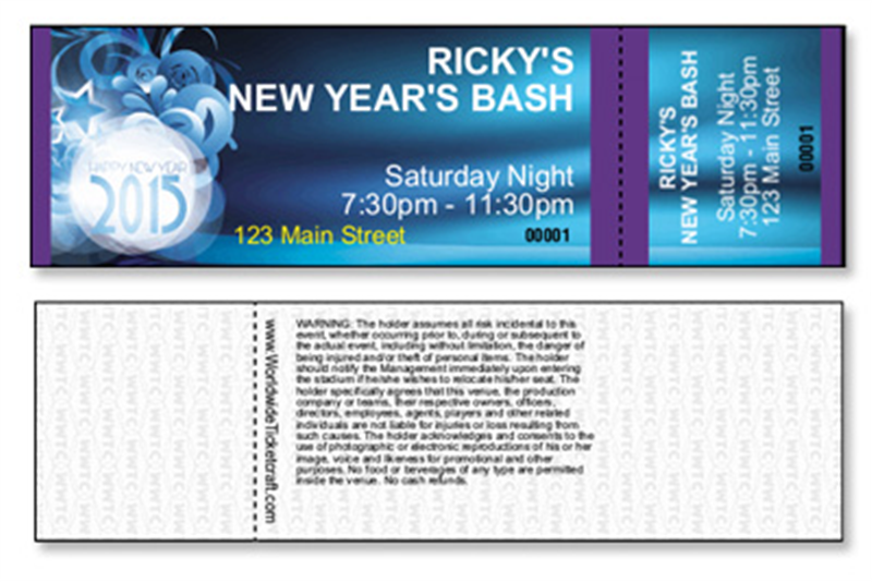 new years eve general admission tickets