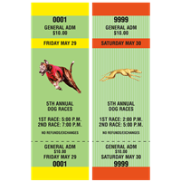 Dog Racing Tickets