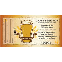 Craft Beer Raffle Tickets