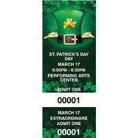St Patrick's Day Tickets with Security Features