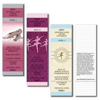 General Admission Ballet Tickets