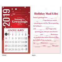 Greeting Card Wall Calendar