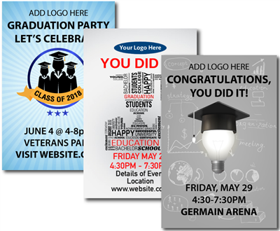 Design It Yourself 12 X 18 Graduation Posters