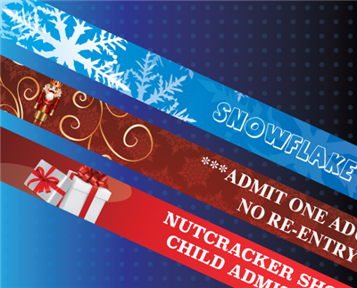 Nutcracker Ballet Wristbands