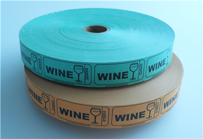 Roll Tickets - Wine