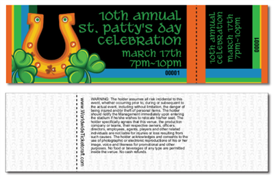 St Patrick's Day Tickets