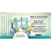 Win A Vacation Raffle Tickets