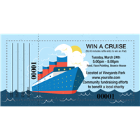 Win A Cruise Raffle Tickets