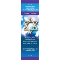 Yom Kippur Tickets