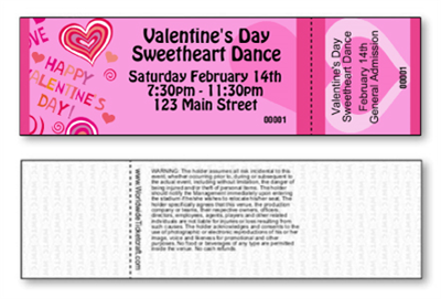 Valentine's Day Tickets
