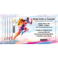 Run For A Cause Raffle Tickets