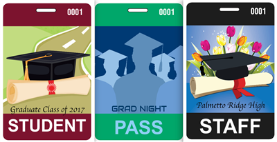 Design It Yourself Graduation Badges with Lanyards