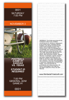 General Admission Football Tickets