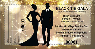 Black Tie Gala Raffle Tickets