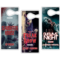 Halloween Parking Hang Tags