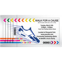 Walk For A Cause Raffle Tickets