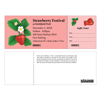 Strawberry Festival Raffle Tickets