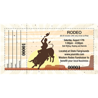 Rodeo Raffle Tickets