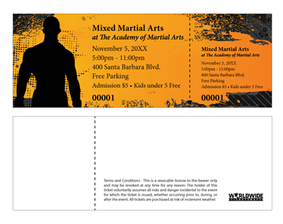 Mixed Martial Arts Tickets