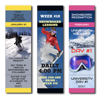DIY Ski + Snowboard Tickets