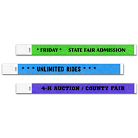 Design It Yourself Fair Wristbands