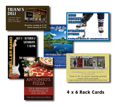 "Upload-My-Files - 4"" X 6"" Rack Cards"