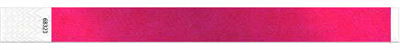 "3/4"" Tyvek Wristbands - Metallic Colors"
