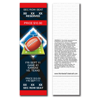 Reserved Seating Football Tickets