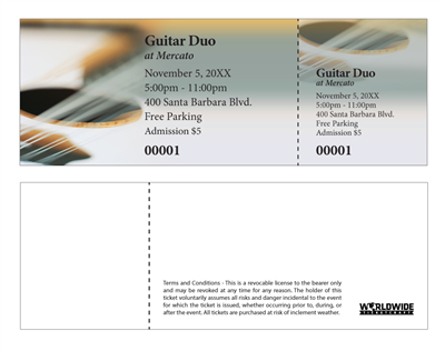 Solo Guitar Concert Tickets