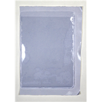"Plastic Card Holders with Gum Back Adhesive 2.875"" x 3.875"""