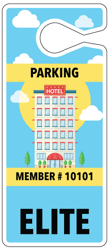 Buy Diy Parking Hang Tags For Hotels